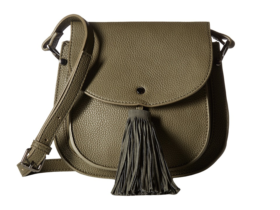 Deux Lux - Anya Saddle Bag (Olive) Handbags