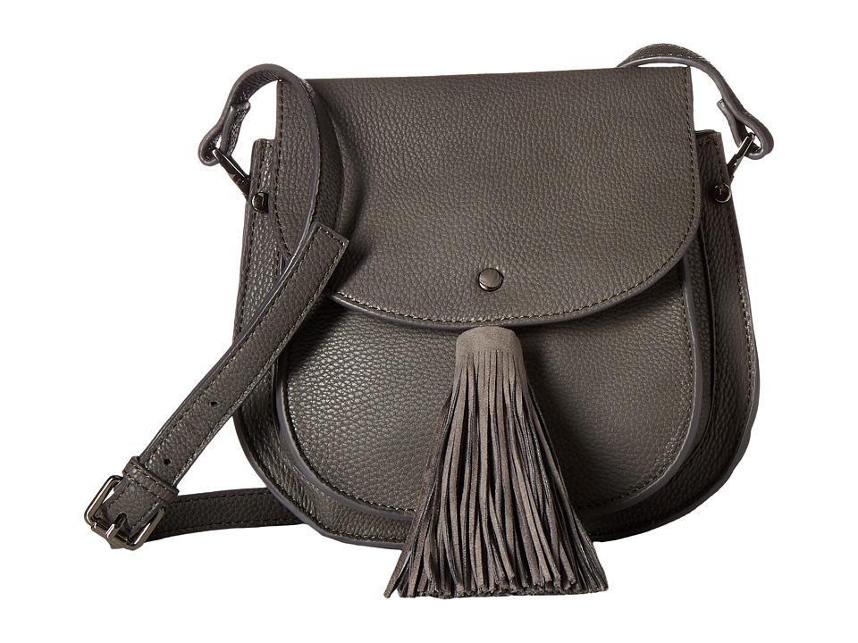 Deux Lux - Anya Saddle Bag (Grey) Handbags