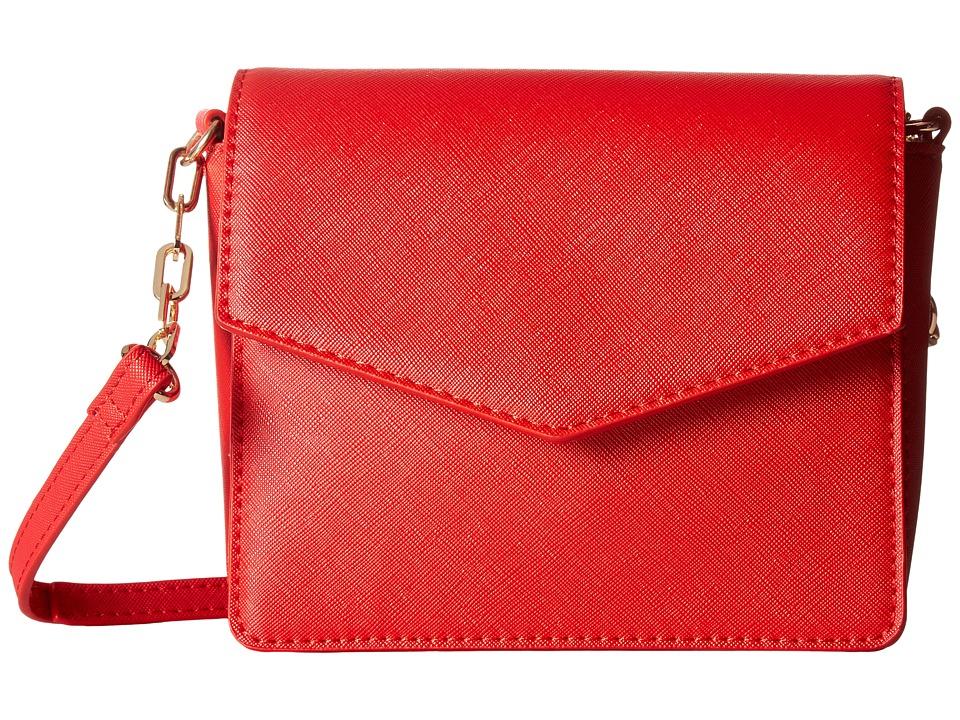 Deux Lux - Chelsea Crossbody (Red) Cross Body Handbags