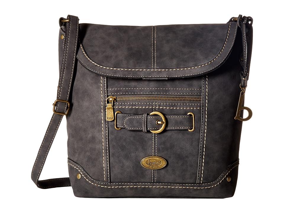 b.o.c. - Tremont Crobo (Charcoal) Handbags