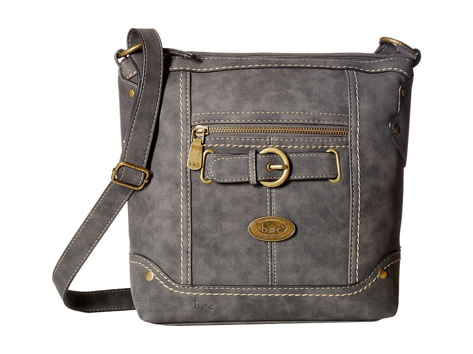 b.o.c. - Tremont Xbody (Charcoal) Handbags