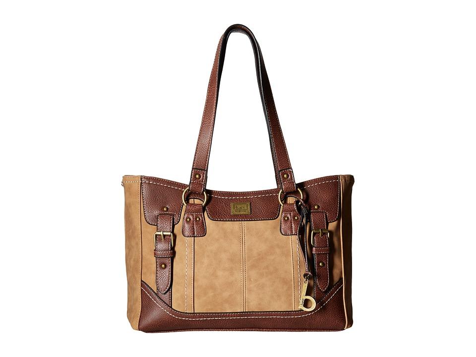 b.o.c. - Copeland Tote (Saddle/Chocolate) Tote Handbags