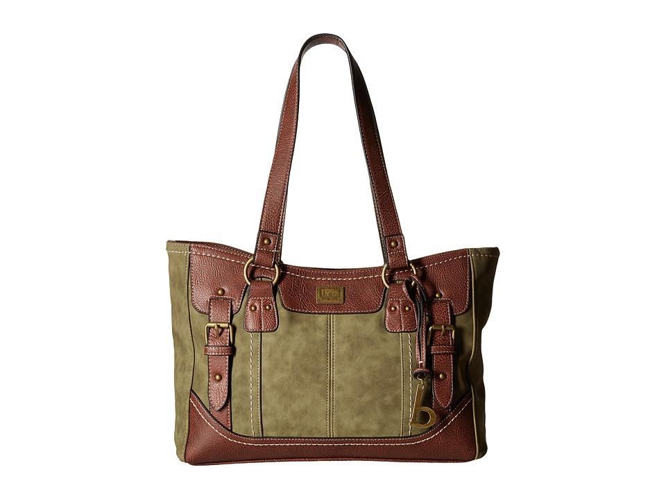 b.o.c. - Copeland Tote (Olive/Chocolate) Tote Handbags