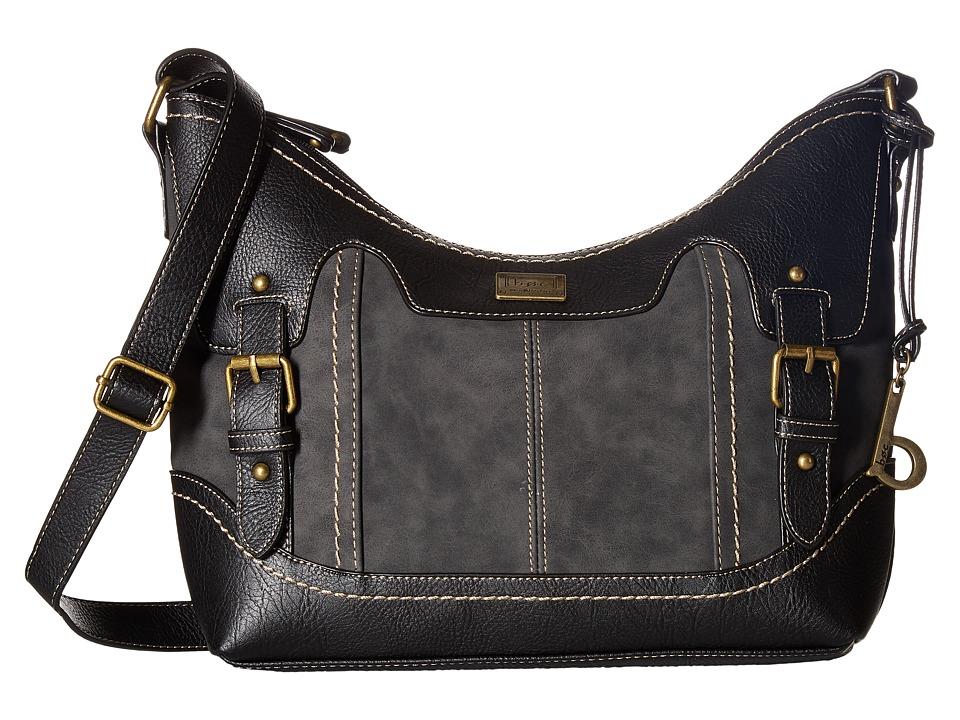 b.o.c. - Copeland Crobo (Charcoal/Black) Handbags
