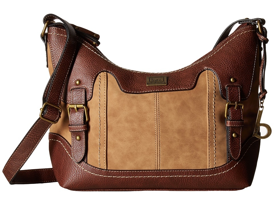 b.o.c. - Copeland Crobo (Saddle/Chocolate) Handbags