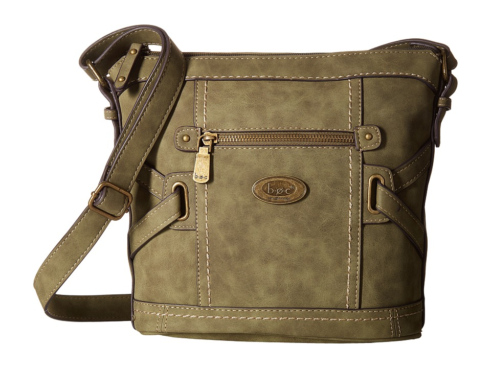b.o.c. - Park Slope Crossbody (Olive) Cross Body Handbags