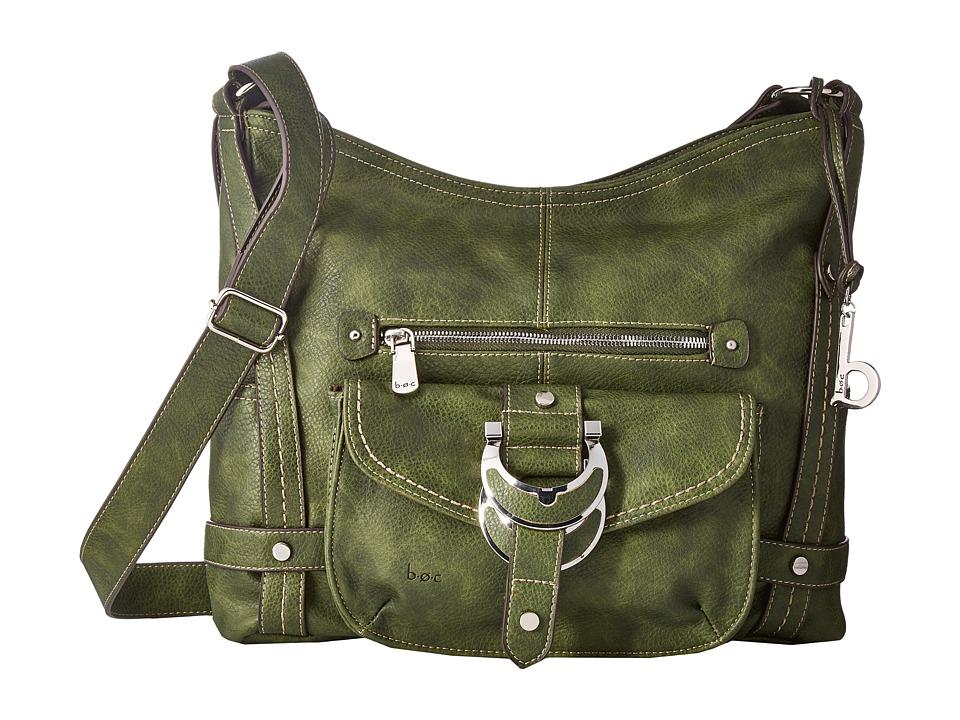 b.o.c. - Morley Crossbody (Olive) Cross Body Handbags