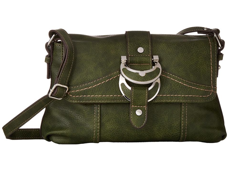 b.o.c. - Morley East/West Flap Crossbody (Olive) Cross Body Handbags