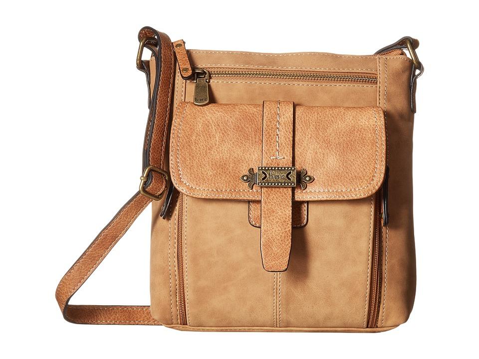 b.o.c. - Finley Organizer Crossbody (Saddle) Cross Body Handbags