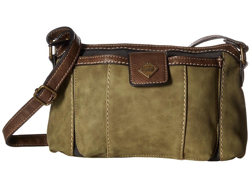 b.o.c. - Montville Merrimac (Olive/Charcoal/Chocolate) Handbags