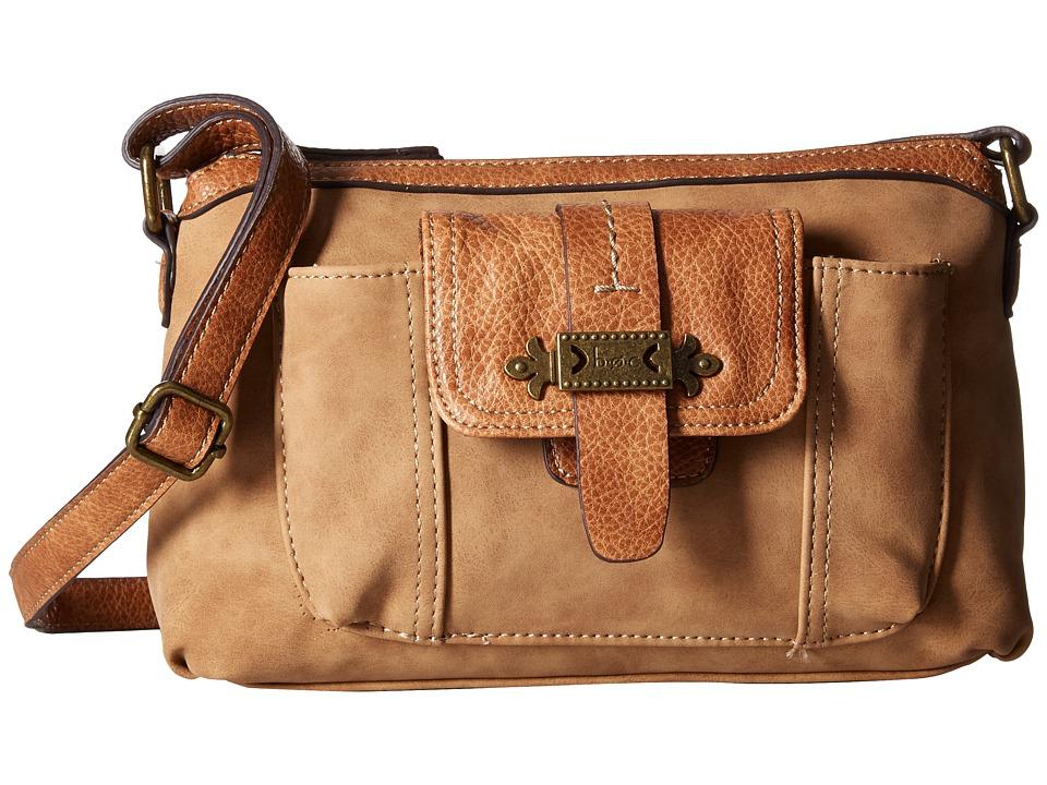 b.o.c. - Finley Organizer Merrimac (Saddle) Handbags