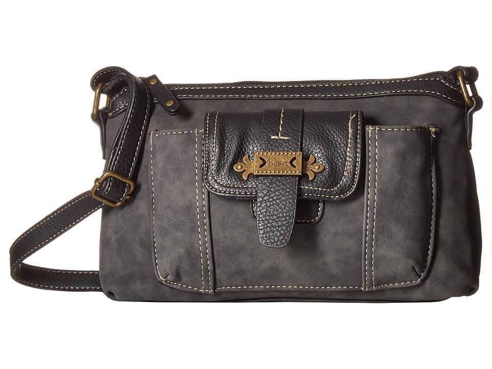 b.o.c. - Finley Organizer Merrimac (Charcoal) Handbags