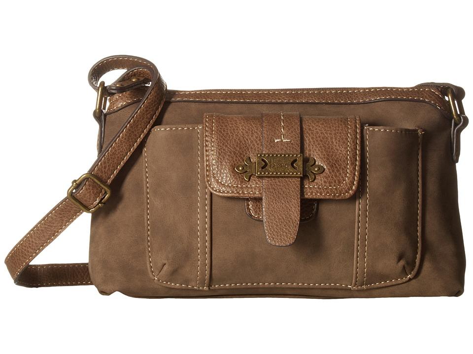 b.o.c. - Finley Organizer Merrimac (Mink) Handbags