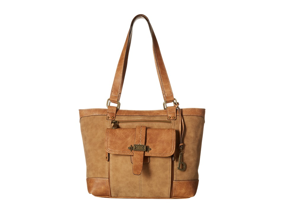 b.o.c. - Finley Organizer Tote (Saddle) Tote Handbags
