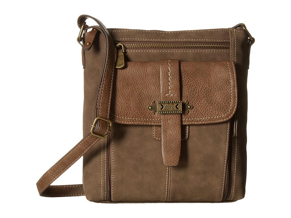 b.o.c. - Finley Organizer Crossbody (Mink) Cross Body Handbags