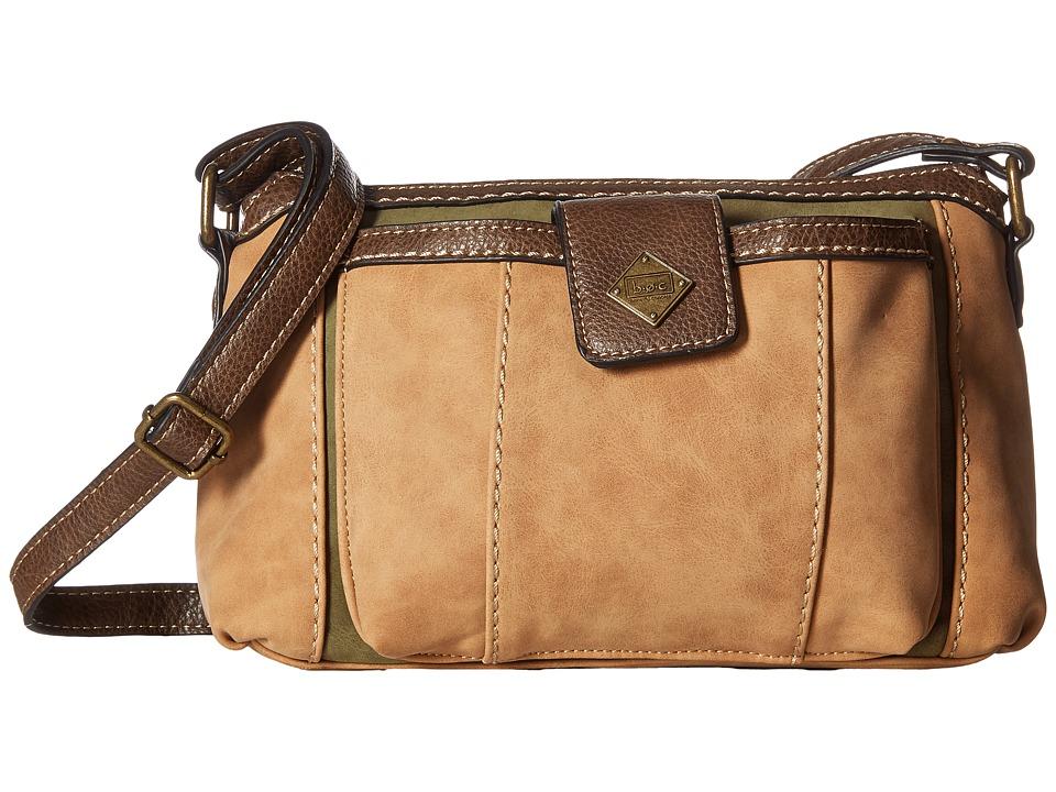 b.o.c. - Montville Merrimac (Saddle/Olive/Chocolate) Handbags