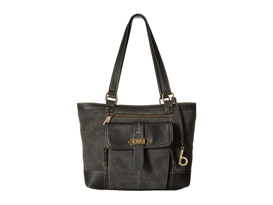b.o.c. - Finley Organizer Tote (Charcoal) Tote Handbags