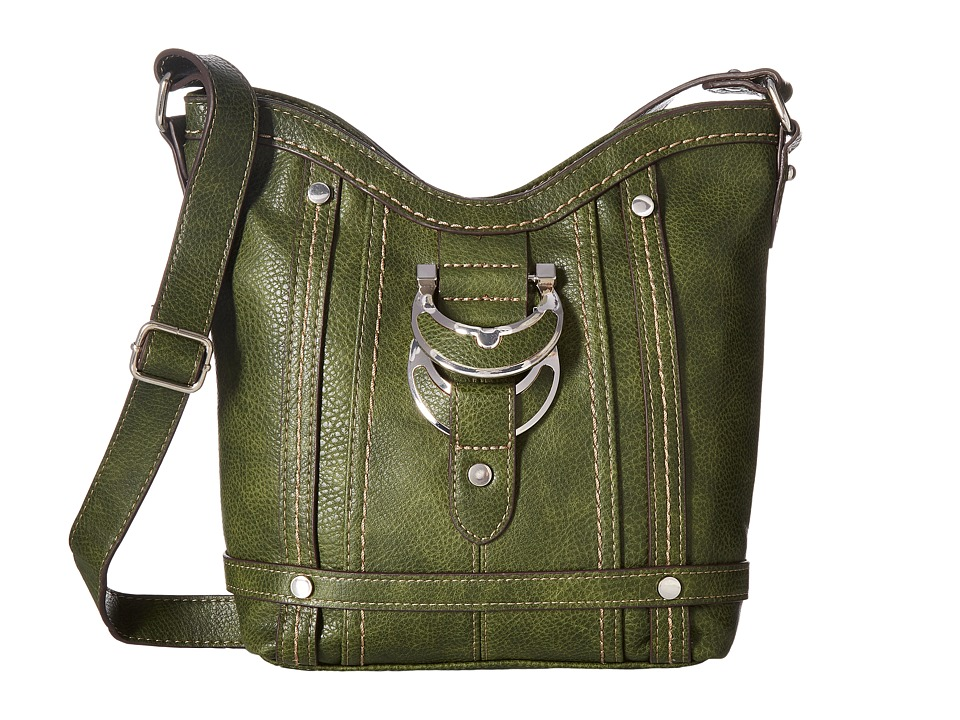 b.o.c. - Morley Crossbody (Olive) Cross Body Handbags