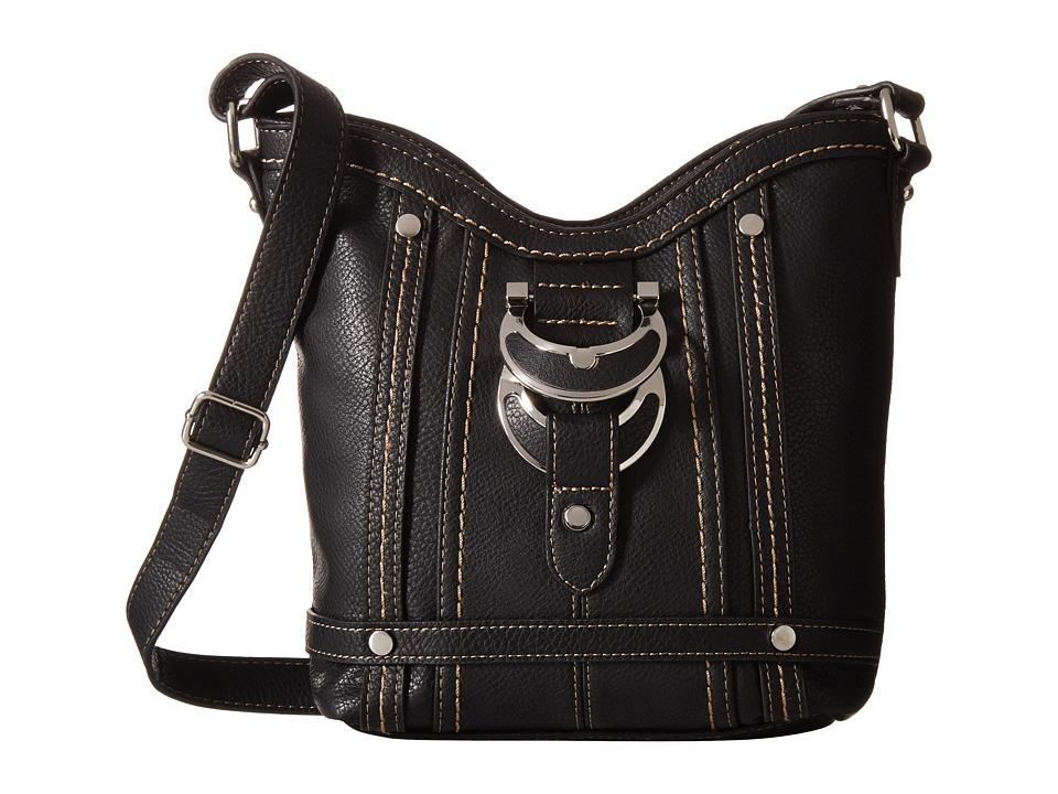 b.o.c. - Morley Crossbody (Black) Cross Body Handbags