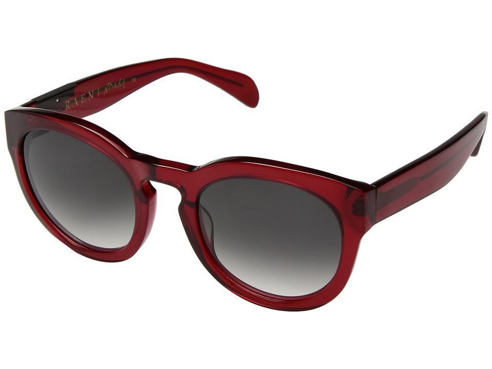 RAEN Optics - Strada (Red Crystal/Smoke) Fashion Sunglasses