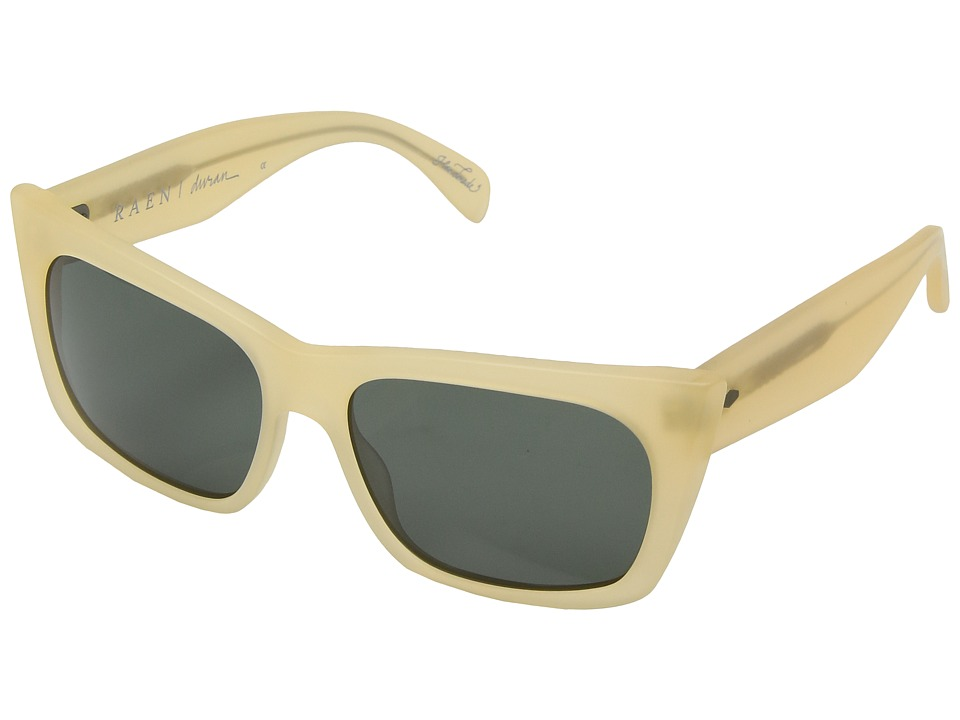 RAEN Optics - Duran (Matte Crystal Flesh/Green) Fashion Sunglasses