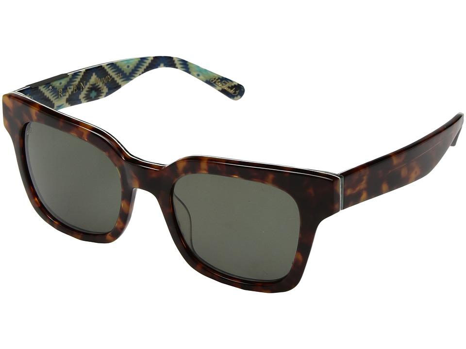 RAEN Optics - Myer (Tortoise Yuma/Green) Fashion Sunglasses