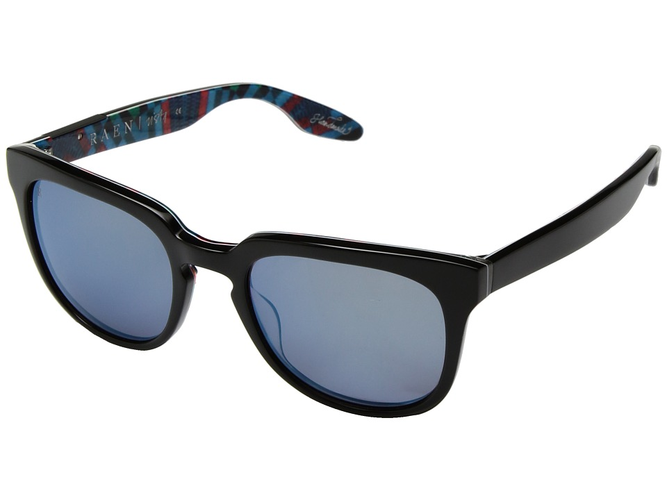 RAEN Optics - Vista (Black Cosmic/Blue Flash Mirror) Fashion Sunglasses