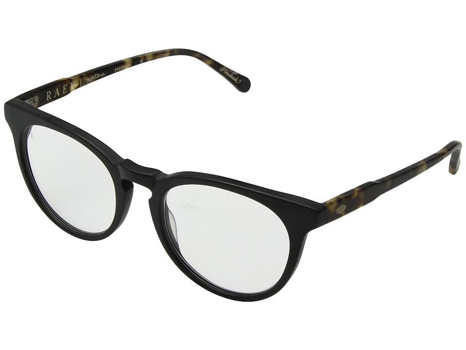 RAEN Optics - Montara (Matte Black/Matte Brindle/Clear AR) Sport Sunglasses