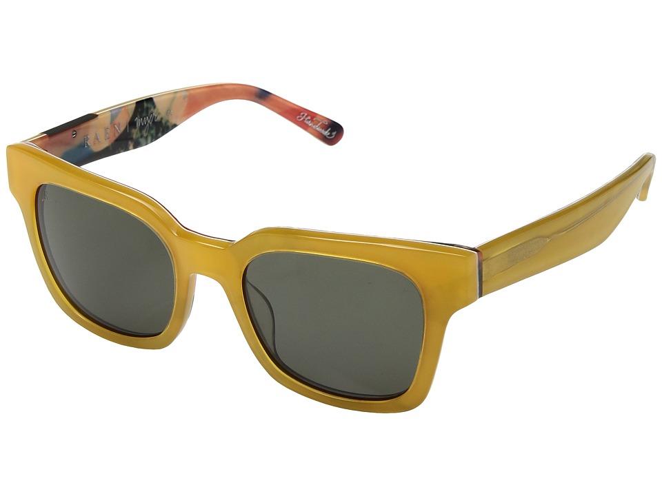 RAEN Optics - Myer (Yellow Sundaze/Green) Fashion Sunglasses