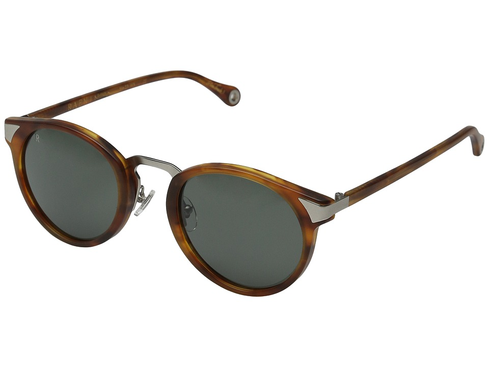 RAEN Optics - Nera (Matte Rootbeer/Green) Fashion Sunglasses