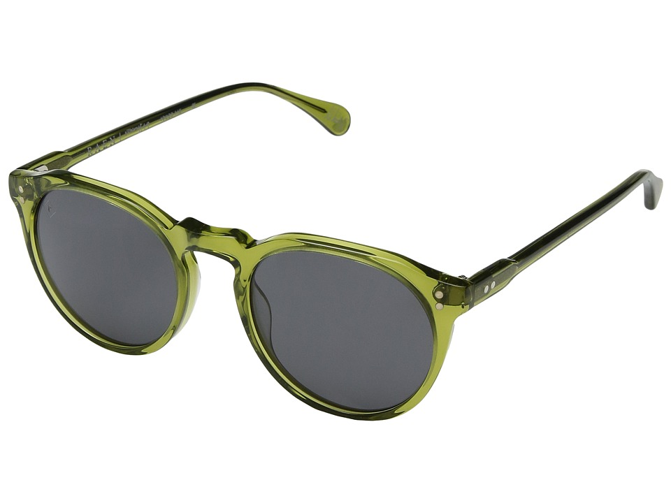 RAEN Optics - Remmy (Green Crystal/Black Polar) Fashion Sunglasses