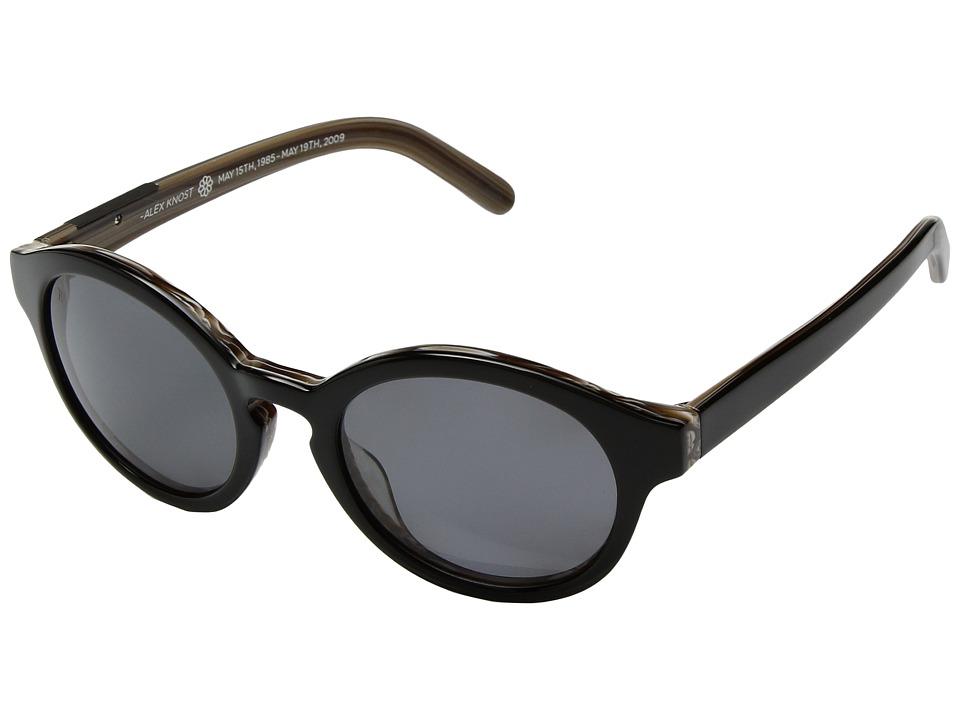 RAEN Optics - Flowers (Woodgrain/Black Polar) Sport Sunglasses