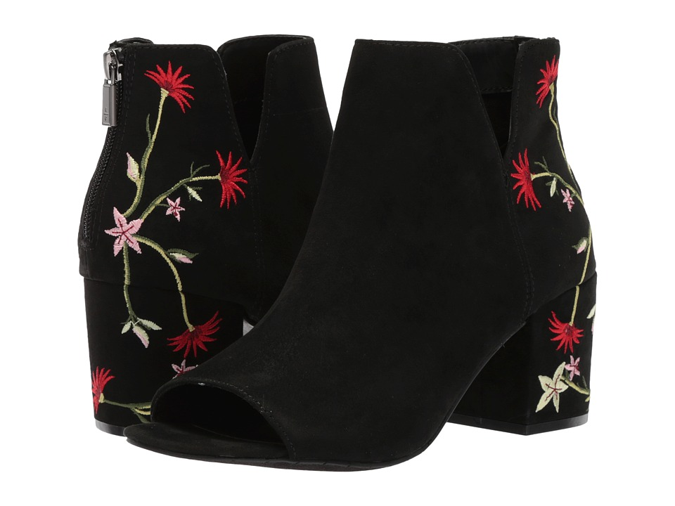 Kenneth Cole Reaction Ride Floral (Black Embroidery) Women