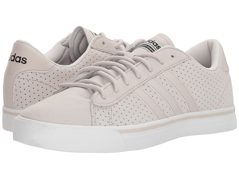 adidas Cloudfoam Super Daily Leather (Chalk Pearl/Black) Men