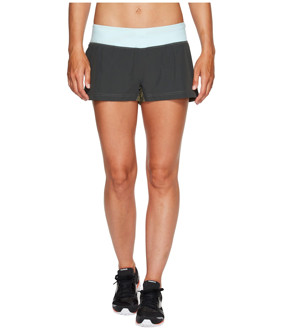Reebok - Spartan Mud Shorts (Green) Women's Shorts