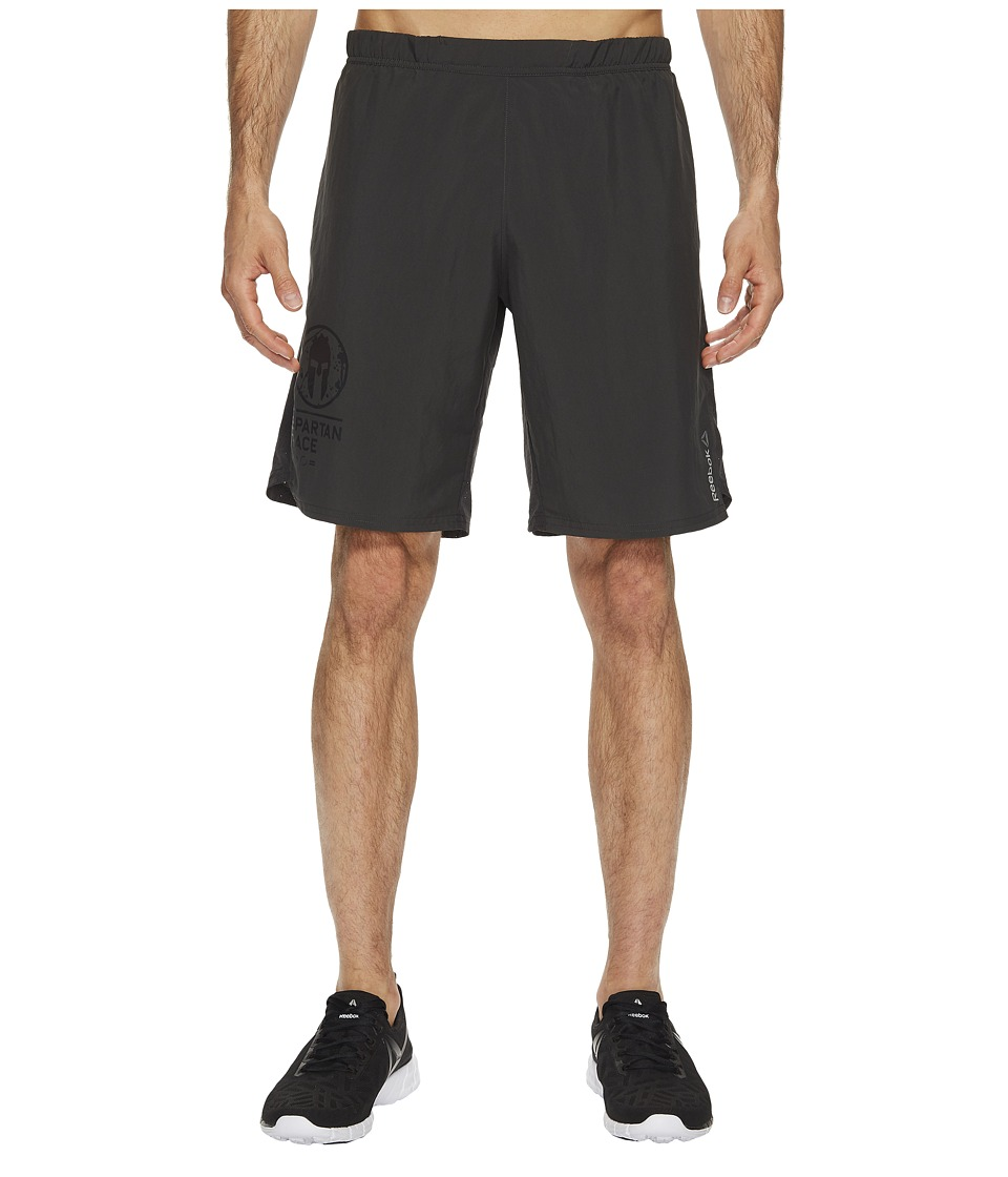Reebok - Spartan Woven Shorts (Coal) Men's Shorts