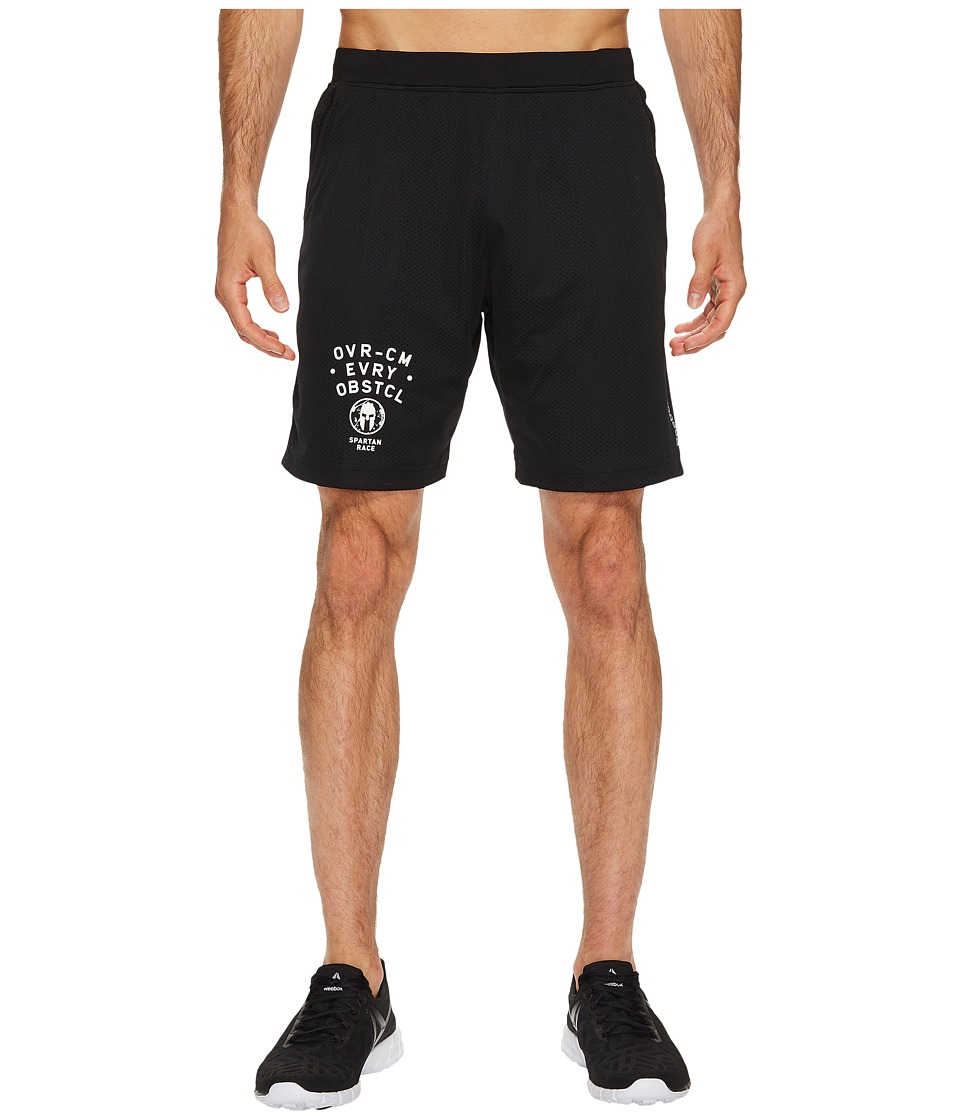 Reebok - Spartan Knit Shorts (Black) Men's Shorts