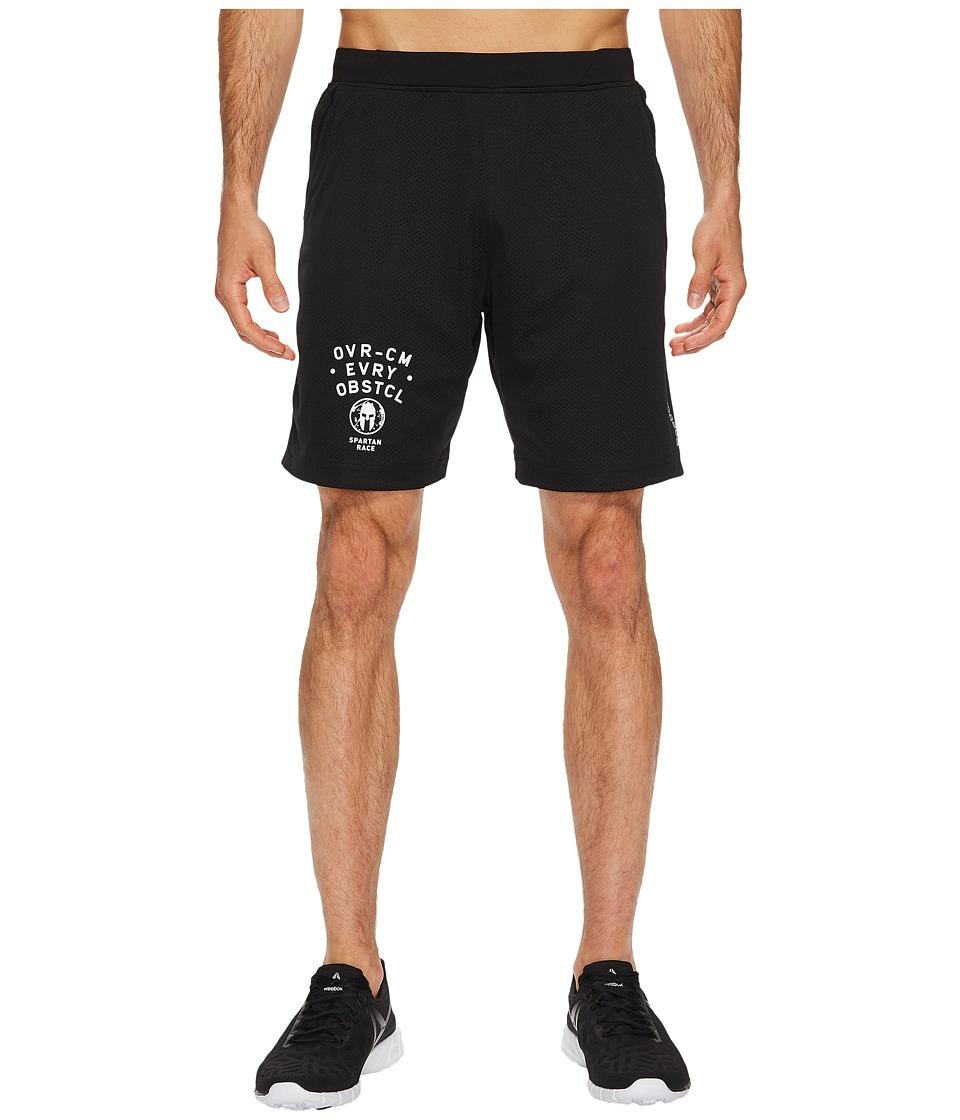 Reebok - Spartan Knit Shorts (Black) Men's Shorts
