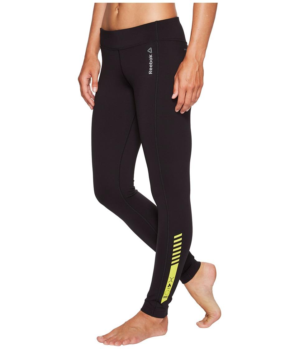 Reebok - Spartan Tights (Black) Women's Clothing