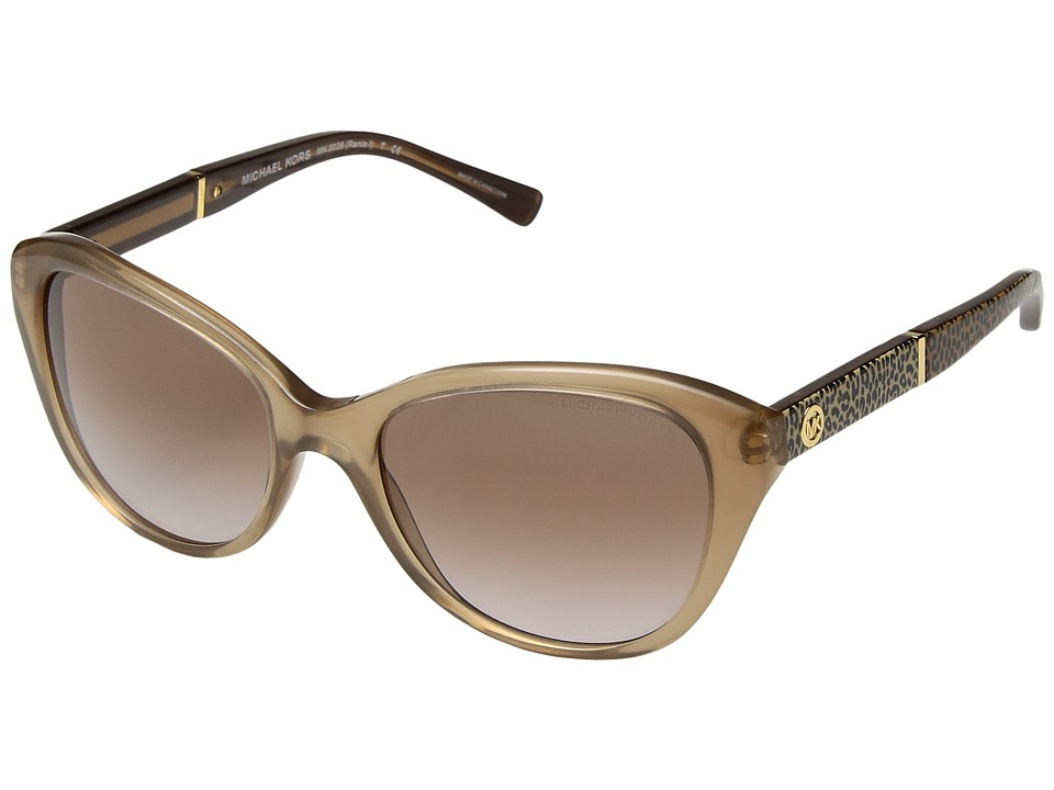 Michael Kors - 0MK2025 (Milky Taupe/Green) Fashion Sunglasses
