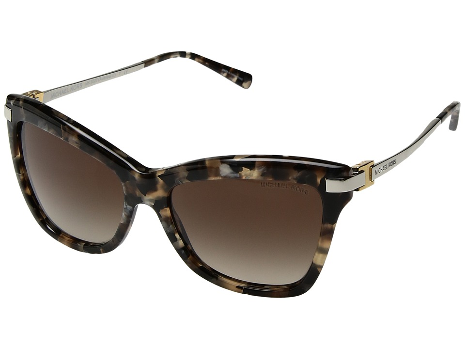 Michael Kors - 0MK2027 (Brown Mosaic) Fashion Sunglasses