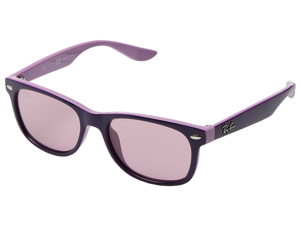 Ray-Ban - Junior/Youth RJ9052S47-X (Violet Pink) Fashion Sunglasses