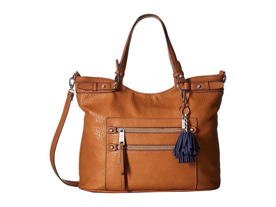 Jessica Simpson - Eva Tote (Cognac) Tote Handbags