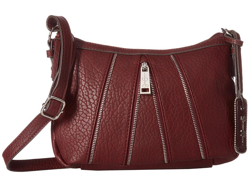Jessica Simpson - Astor Crossbody (Burgundy) Cross Body Handbags