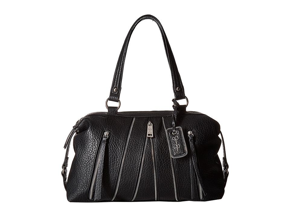 Jessica Simpson - Astor Satchel (Black) Satchel Handbags