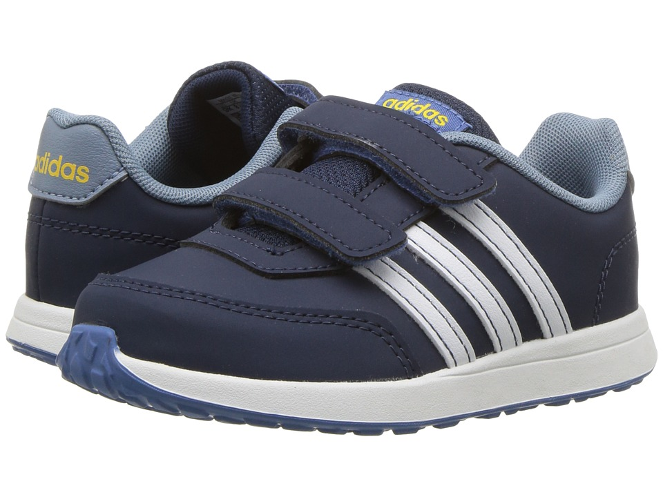 adidas Kids VS Switch 2 CMF (Infant/Toddler) (Navy/Navy/White/Raw Grey) Kids Shoes