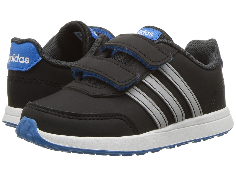 adidas Kids VS Switch 2 CMF (Infant/Toddler) (Black/Grey 2/Bright Blue) Kids Shoes