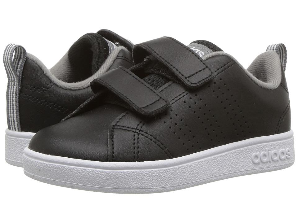 adidas Kids VS Advantage Clean CMF (Infant/Toddler) (Black/Grey 3) Kids Shoes