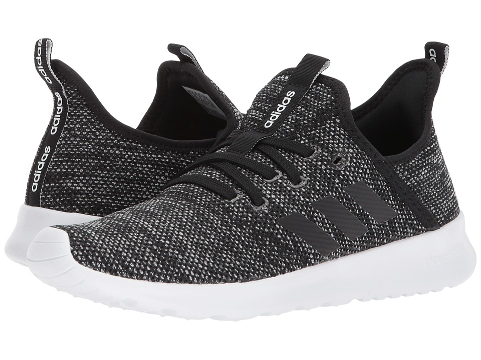 adidas Cloudfoam Pure (Black/White) Women