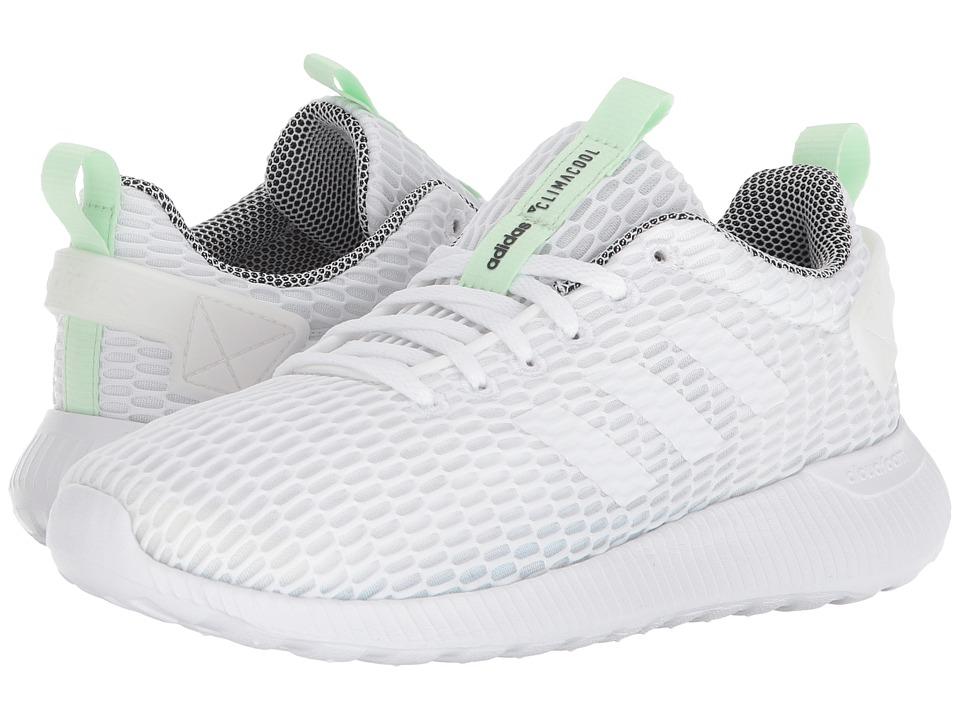 adidas Cloudfoam Lite Racer CC (White/White/Aero Green) Women